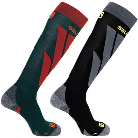 Salomon S/Access Calcetines Pack de 1 Hombre, green gables/black